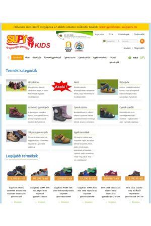 gyerekcipo-supykids.hu - Megbízható bolt